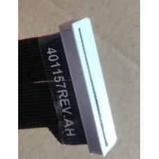 Кабель для печатающей головки Videojet, Linx, Dataflex, ICE, Zodiac (107 mm) левая версия, 401398TS