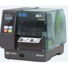 CAB: EOS2/300 mobile (108mm) - 300DPI, Flat Head, Ø рулона этикеток до 152 мм, 5978202.600